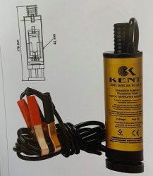 KENT Üzemanyag szivattyú elektromos szűrővel 12V