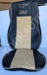 Hímzett üléshuzat DAF XF 106 2013-14